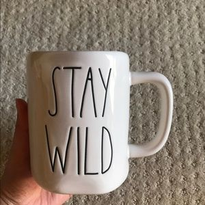 New Rae Dunn stay wild mug cup